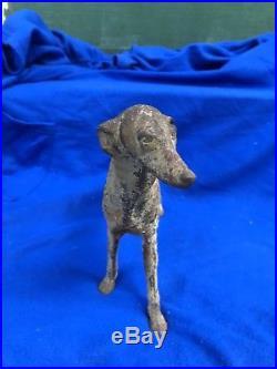 16 Rare Hubley Borzoi Wolfhound Cast Iron Dog Doorstop Statue Art Sculpture