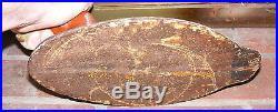ANTIQUE CAST IRON SINK BOX DECOY ANCHOR DOOR STOP REDHEAD DRAKE CHESAPEAKE BAY