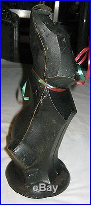 ANTIQUE HUBLEY ART DECO SCOTTISH TERRIER DOG CAST IRON STATUE SCULPTURE DOORSTOP