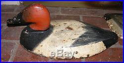 ANTIQUE LARGE CAST IRON SINK BOX DECOY ANCHOR DOOR STOP CHESAPEAKE BAY LQQK
