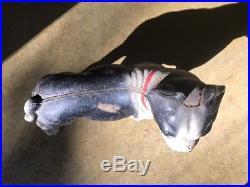 Antique Hubley 10 Boston Terrier Bull Dog Cast Iron Door Stop