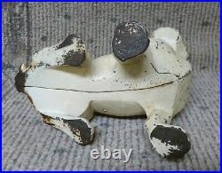 Antique Hubley #304 French Bulldog Cast Iron Door Stop