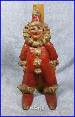 Antique & Rare Clown #532 Cast Iron Doorstop, Book Example