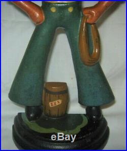 Antique USA Cast Iron Maritime Nautical Sea Ship Littco Toy Sailor Door Doorstop