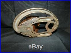 Antique hubley cast iron monkey door stop original authentic hubley art statue