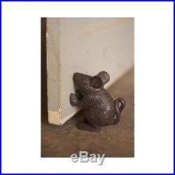 Cast Iron Mouse \ Rustic Door Stop, Free Shipping, New