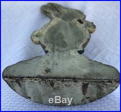 DRAYTON PETER RABBIT CARROT CAST IRON DOORSTOP Door Stop Original Hubley