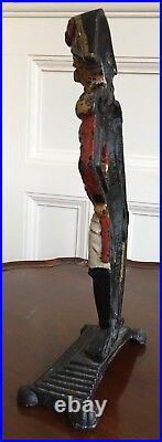 Duke Of Wellington. A Rare Victorian Cast Iron Doorstop. 35cm High