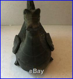 Gates General Cast Iron Dragon Humidifier Fire Hearth Stovetop Steam Doorstop