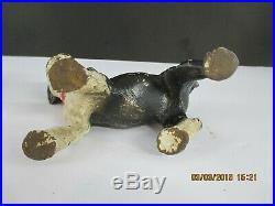 Hubley Cast Iron Boston Terrier Puppy Door Stop