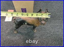 Hubley Cast Iron Doorstop French Bulldog Door Stopper Dog Antique Right Face