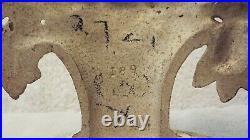 LILIES OF THE VALLEY Flower Basket Door Stop HUBLEY Design # 189