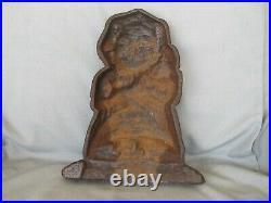 PUNCH & JUDY Character Antique CAST IRON DOORSTOP