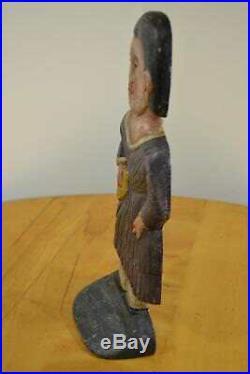 RaRe Folk-Art Tom Breen Large 10 LB Cast Iron Indian Summer Door Stop