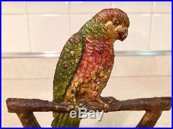 Rare Parrot Doorstop Nr