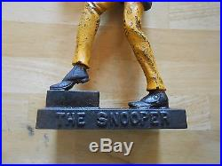 The Snooper cast iron door stop