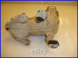 Very Nice Antique Right Facing Hubley French Bulldog Cast Iron Dog Doorstop