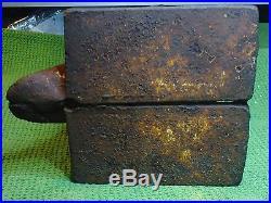 Very Rare Antique Cast Iron Penguin Hubley Door Stop
