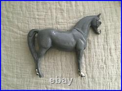 Vintage Cast Iron Horse Door Stop