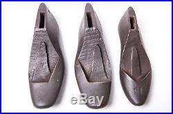 Vintage Cobbler Set Shoe Repair Cast Iron Door Stop Display Decorative