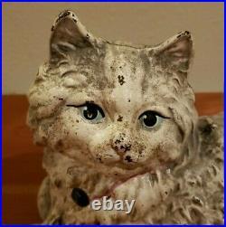 Vintage Hubley Cast Iron Cat Doorstop