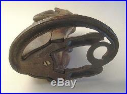 Vintage Hubley Monkey Cast Iron Door Stop- 1930