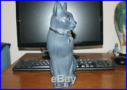 Virginia MetalCrafters Cast Iron Cat 18-25 Great shape Vintage