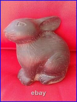 Virginia Metalcrafters Baby Bunny Cast Iron Doorstop