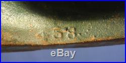 Vtg Antique Hubley Doorstop #458 Cast Iron Pheasant Bird Fred Everett Orig Paint