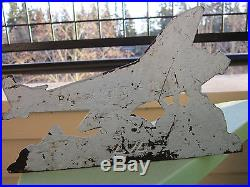 Xxrare Original LVL Spirit Of St. Louis Lindbergh Airplane Cast Iron Doorstop